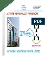 Activate Methodology Framework - Aspl
