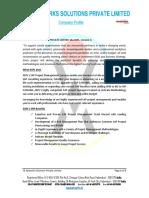 ASPL Company SAP Profile