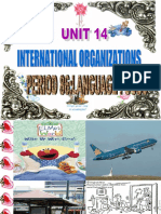 Unit 14 International Organizations Lang