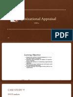 4.Organisational Appraisal