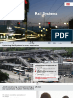 Rail Systems Data