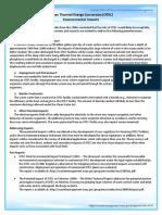 Environmental Fact Sheet