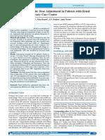 Evaluation Dose of Antibiotic