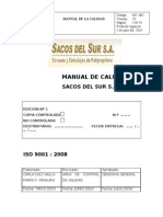 Manual Sacos Del Sur