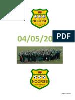 Programmaboekje Kon. Noorse S.v. Meisjestornooi 04052019