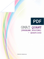 GMAT Quant PS Questions