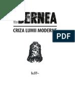 Ernest Bernea Criza Lumii Moderne