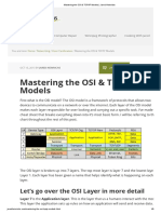Mastering the OSI & TCP_IP