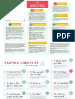Keto and Fasting Checklist