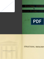 Structural Geology Table of Contents