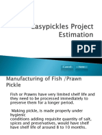 Easypickles Project Report