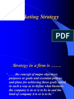 Marketing Strategy an Introduction