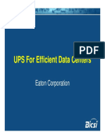 UPS for Efficient Data Centres