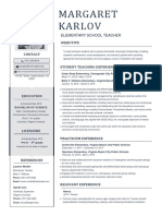 karlov officialresume