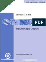 ISA 5-4 Instrument Loop Diagrams