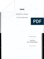 Adorno Theodor - El Ensayo Como Forma (Cv)