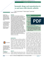Antirheumatic Drugs and Reproduction in Women and Men With Chronic Arthritis 2015