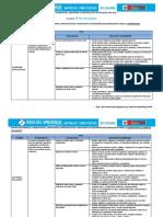Matriz de Competencias, Capacidades e Indicadores de Comunicación_4º DCN-2015