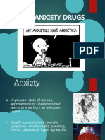 Anti Anxiety Drugs