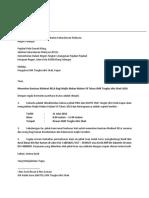 Surat Permohonan Rela