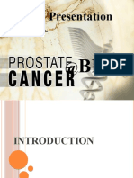 Case Presentation of Prostate CA and BPH