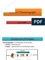 Basics of Chromatography by-A.T SIR SLIET