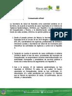 03 -13 -19 Salud Comunicado Hepatitis A.docx