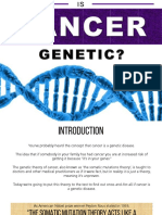 Is Cancer a Genetic Disease?