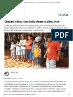Povos Indígenas_ Ditadura Militar, Uma Ferida Aberta Na Aldeia Ocoy _ Brasil _ EL PAÍS Brasil