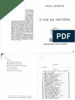 Lefebvre, Henri - O Fim da História.pdf