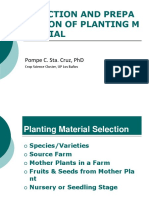 Planting Material Selection - Fin