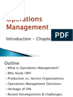 Operational Management Chapter 1