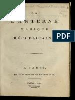 La lanterne magique républicaine. (1799)by Barruel-Beauvert, Antoine Joseph, comte de..pdf