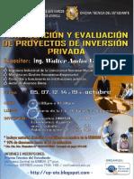 Formulación de Evaluación de Proyectos