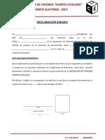 11 Formato Acta de Constitucion de Asociacion de Vivienda 2016