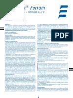 Anemidox Ferrum Prospecto ELEA