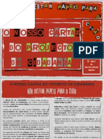 Cartaz - Projecto Cidadania