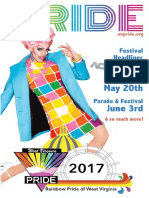 2017 Pride Guide Rainbow Pride of Wv