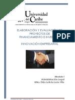 Modulo I. Administración Legal [LIE]