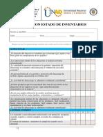 Instrumento de Evaluacion de Gestion de Inventarios