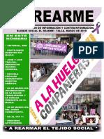 EL REARME N°7, MARZO 2019. TALCA