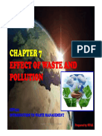 CHAPTER 7 - Effect of Waste and Pollution