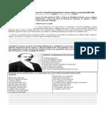 Guía Fin Del Periodo Liberal y Comienzo de La República Parlamentaria 2018