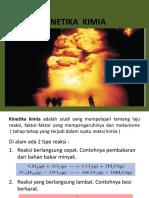 Kd II Kinetika Kimia