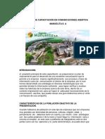 AA12 Evidencia 6. Programa de Capacitación