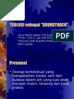 TEOLOGI sebagai Soundtrack