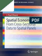 Spatial Econometrics Cross-Sectional Data to Spatial Panels [Book] (Elhorst 2014).pdf