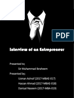 Assignment of Interview