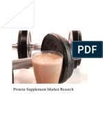 Fitness Supplement Market Study