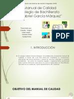 Manual de Sgc Col Gabriel Garcia Marquez